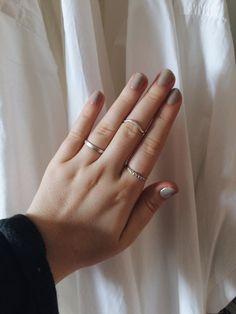 Styling by klaranorgaard showing Ribbon Ring Wide Silver, Wave Single Zirconia Ring Silver and Delight diadem Zirconia Ring Gold #jewellery #Jewelry #bangles #amulet #dogtag #medallion #choker #charms #Pendant #Earring #EarringBackPeace #EarJacket #EarSticks #Necklace #Earcuff #Bracelet #Minimal #minimalistic #ContemporaryJewellery #zirkonia #Gemstone #JewelleryStone #JewelleryDesign #CreativeJewellery #OxidizedJewellery #gold #silver #rosegold #hoops #armcuff #jewls #jewelleryInspiration…