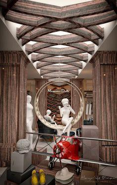 Massimo Dutti / shop Interior architecture and design created by HePe Design Interiors / 2015