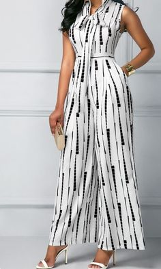Trendy Jumpsuits Rompers for women on sale African Fashion Dresses, Fashion Outfits, Womens Fashion, Rompers Women, Jumpsuits For Women, Printed Jumpsuit, White Jumpsuit, Casual Dresses, Short Sleeve Dresses