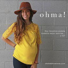 """""""Hoy llevamos puesta nuestra mejor sonrisa...y tú? Camiseta: 19.95€ #ropapremama #modaparaembarazadas #modapremama #embarazo #embarazada #pregnant…"""""""