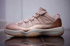 Our Best Look Yet At The Air Jordan 11 Low Rose Gold