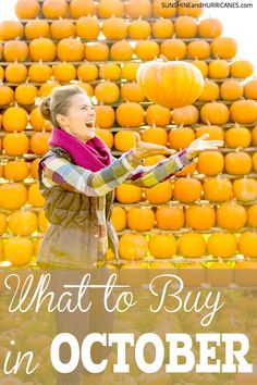Find the tricks of saving money so you'll enjoy the treat of a fat wallet! Shopping smart will help your budget and this list helps you know you're getting the best frugal bargains out there! What to Buy in October