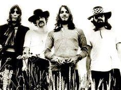 Roger Waters, Nick Mason, David Gilmour and Richard Wright