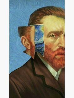 vincent van gogh self portrait - portrait Vincent Van Gogh, Mode Collage, Art Du Collage, Aesthetic Painting, Aesthetic Art, Aesthetic Drawing, Aesthetic Clothes, Aesthetic Outfit, Aesthetic Rooms