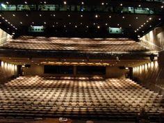 Inside the Lyttelton Theatre.