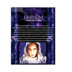 Eminem bio for my Summer Jam XXL magazine.