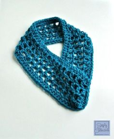 Coraline in Morocco One Skein Cowl Crochet Pattern