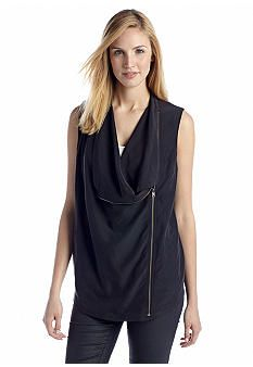 2014 Fall Fashion: Women's Most Wanted List | DKNY Novelty Vest http://effortlesstyle.com/2014-fall-fashion-womens-most-wanted/