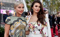 We often see celebrities out mingling and having fun together, but are they really friends? These celebrities that are best friends in real life will give you BFF envy. Celebrity Best Friends, Besties, Bff, Julianne Hough, Nina Dobrev, Celebs, Celebrities, Real Life, Have Fun