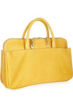 Chlo¨¦ | Lucy leather tote | NET-A-PORTER.COM | Handbags ...