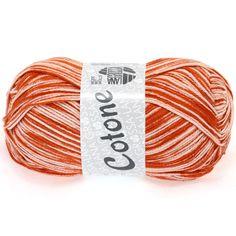 COTONE print 403-orange / white | EAN: 4033493151542