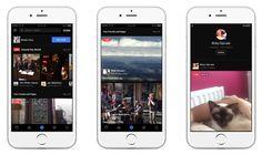 Facebook gagne une section dédiée aux vidéos et ajoute des nouveautés pour les directs