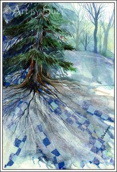 Winter's Quilt / Suzy