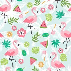 Colorful Cartoon Designs Backdrop for Baby Show Party Photography Background - 10X10FT(3X3M)