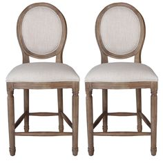 These beautiful counter stools blend style with superb craftsmanship  Weathered Provence Counter Stools