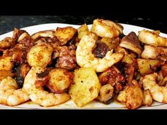 Pulpo al ajillo - YouTube