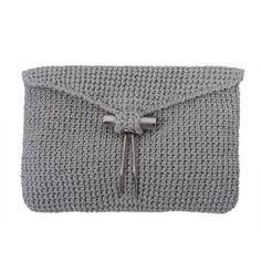 Preowned Rodeo Metallic Silver Crochet Clutch (€230) ❤ liked on Polyvore featuring bags, handbags, clutches, silver, envelope evening clutch, travel purse, envelope clutch, envelope clutch bag and evening purses