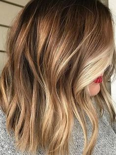 Fine-looking Color Melt Ideas for Medium Hairstyles 2018