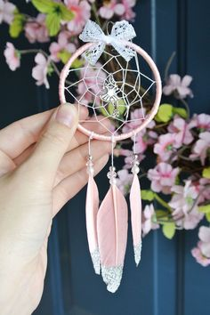 Excited to share this item from my #etsy shop: Ballet Gifts for Girls, For Teens, Small Dream Catcher, Girl Bedroom Decor, Dance Mom, Dance Teacher Gifts, Gift for Dancer