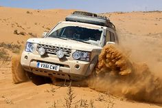 Sand Rover : #LandRover #Discovery Journey of Discovery