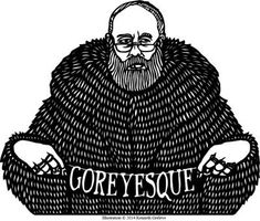Goreyesque is an online literary journal featuring work inspired by Edward Gorey. It is co-sponsored by the Department of Creative Writing at Columbia College Chicago and Loyola University Chicago. Edward Gorey, Columbia College Chicago, John Kenn, Wordless Book, Ink Pen Drawings, Weird And Wonderful, Typography Prints, Book Authors, American Artists