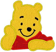 applique for winnie the pooh - Google Search