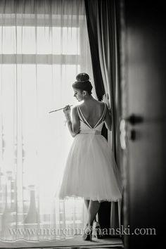 ślub i wesele inspirowane Audrey Hepburn produkcja www.abcslubu.pl fot.Marcin Romański