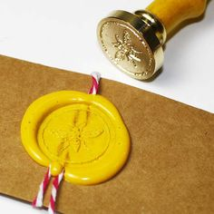 Bumble bee wax seal stamp,  seal stamp