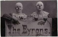 French clowns, ca 1900-1930 at Retronaut.co [Musée des Civilisations de l'Europe et de la Méditerranée (MuCEM)]
