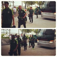 Portland Timbers arrive to play Colorado #RCTID