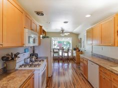We loved these bamboo floors!! 5781 Mountain View, Redding Property Listing