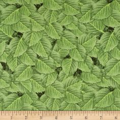 Shades of Violet Leaves Light Green from @fabricdotcom  Designed by Herbie and licensed to Wilmington Prints, this cotton print fabric is perfect for quilting, apparel, and home decor accents. Colors include shades of green.
