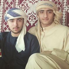 Zayed bin Maktoum bin Rashid Al Maktoum y su sobrino Maktoum bin Marwan bin Mohammed Al Maktoum, 02/01/2015. Vía: zayedbinmaktoum