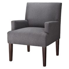 Dolce Upholstered Accent Arm Chair - Heathered Texture Slate $137.98