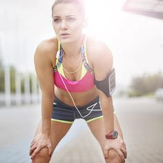 Runners should add strength training into their weekly workout schedule to help build muscle so you can run faster or longer. This at home workout helps even out imbalances in your lower body and works your upper body to get lean muscle that powers you through tough runs.