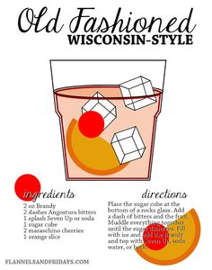 Wisconsin-Style Brandy Old Fashioned Recipe