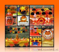 Garfield birthay party - www.nicoleta.cl