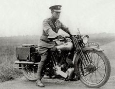 T. E. Lawrence on a Brough Superior