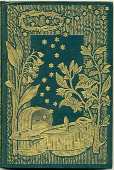 """Binding for Thomas Hake's """"Tales and Parables""""    Dante Gabriel Rossetti, designer    1872"""