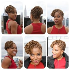 Locks Of Nu- Brooklyn, NY Styled me for this photoshoot. #Naturalhair #locs