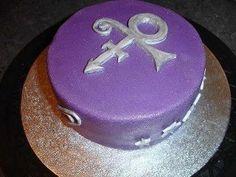 Just like my birthday cake, Love it! Prince Of Pop, Baby Prince, Purple Wedding Cakes, Purple Party, Prince Birthday, 50th Birthday, Birthday Cakes, Dj Quik, Prince Paisley Park