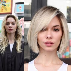 """6,808 Likes, 82 Comments - SAL SALCEDO (@salsalhair) on Instagram: """"MAKEOVER TIME! 👀 From long to short! For our girl @paulinashafir👄 Color @jeanpierresosa🎨 Cut/Style…"""""""