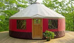 Yurts could work, too!