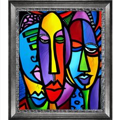 Cranium is a beautiful painting by contemporary artist Tom Fedro. Enjoy the beauty and color of this abstract painting reproduced as a fine canvas print. Chicago artist Tom Fedro creates art with zing
