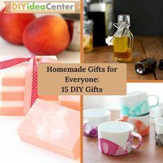 Homemade Gifts for Everyone | DIYIdeaCenter.com