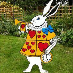 Alice in Wonderland Croquet Lawn