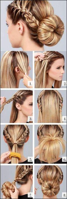 Style Statement: DIY Zöpfe für langes Haar 2018. | Einfache Frisuren