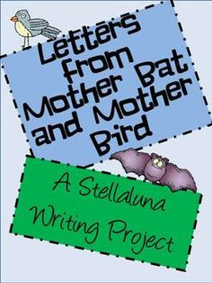 Fun little letter writing activity to go with Stellaluna. I like to practice letter writing throughout the each so I try to pop some in here and . First Grade Themes, 2nd Grade Ela, 2nd Grade Reading, Second Grade, Class Activities, Writing Activities, Teacher Tools, Teacher Stuff, Speech And Language
