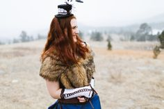 Snowy Steampunk Wedding at Jewel Cave National Monument