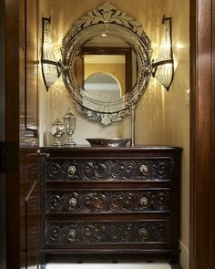 beautiful powder rooms | Beautiful powder room?..LOVE THIS FOR MY POWDER ROOM !!! 'Cherie